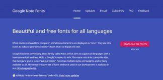 ชุดใหญ่! Google จัดเต็ม Noto Fonts แจกฟรีมีให้เลือก 800 ภาษา