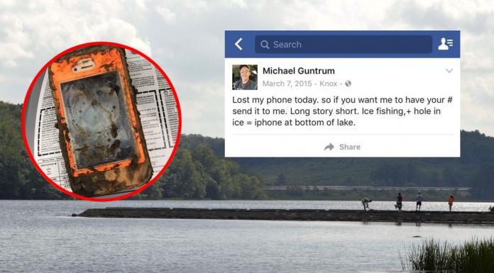เฮ้ยเป็นไปได้ไง! iPhone 4 หล่นลงน้ำปีกว่าแต่ยังใช้ได้