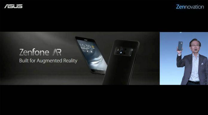 ตัวแรกของโลก! ASUS ZenFone AR กับ RAM 8GB เปิดตัวแล้ว