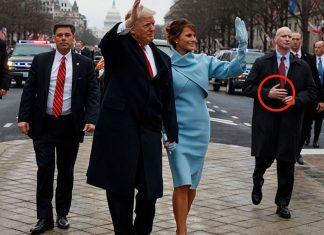 เนียน! บอดี้การ์ด ปธน. Trump สวมมือปลอม เตรียมพร้อมอาวุธ